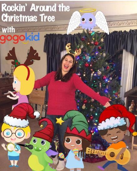 "gogokid外教""分享你的圣诞树""评选揭晓:11名外教获创意装扮奖"